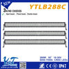 Super personality 24480lm 288w led visor light bar led headlight for off road suv