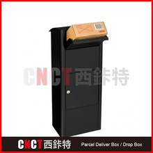 custom durable Wall mounted Parcel Safe Box for receiving mail and parcel