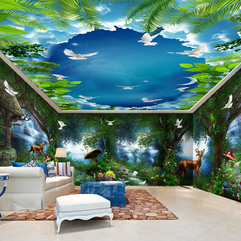 Hd New Designs Nature Fantastic 3d Wall Murals Digital Printing
