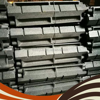 Factory wholesale price Boiler Grate Bar Flake type Chain grating