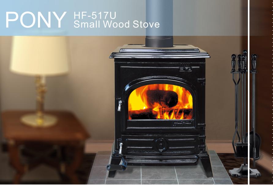Hiflame Pony Hf517u Epa Small Wood Stove For Home Heating