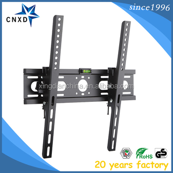 Angled removable lcd led tv wall mount bracket for 26 42 - Slanted wall tv mount ...