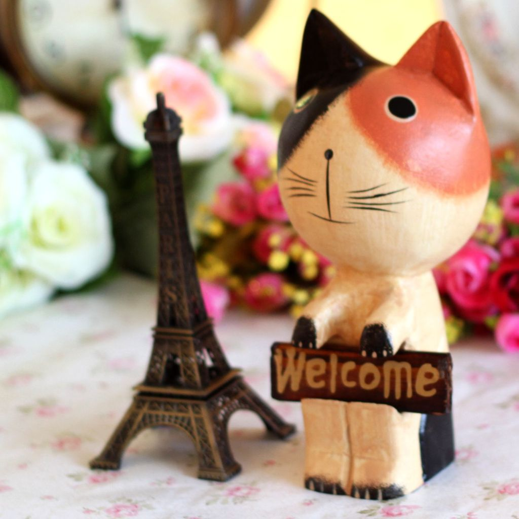 Garden Decor Cats: Aliexpress.com : Buy Zakka Kitten Welcome Cats Animals