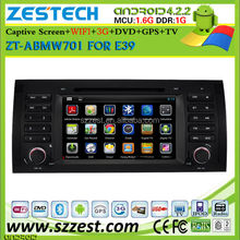 ZESTECH hot sell pure android system for bmw e39 e53 x5 m5 navigation system with 3g wifi fast delivery