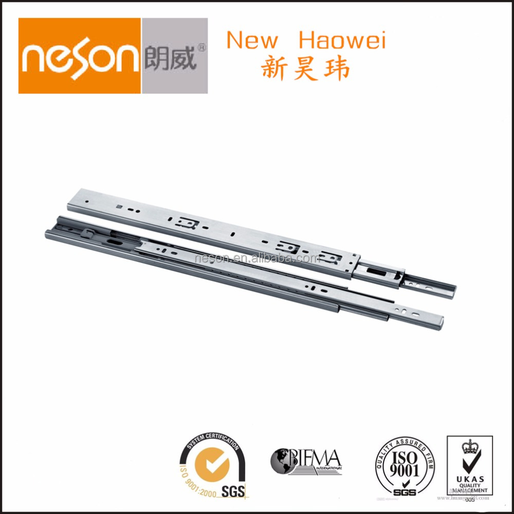 NESON 45MM soft-closing ball bearing drawer slide