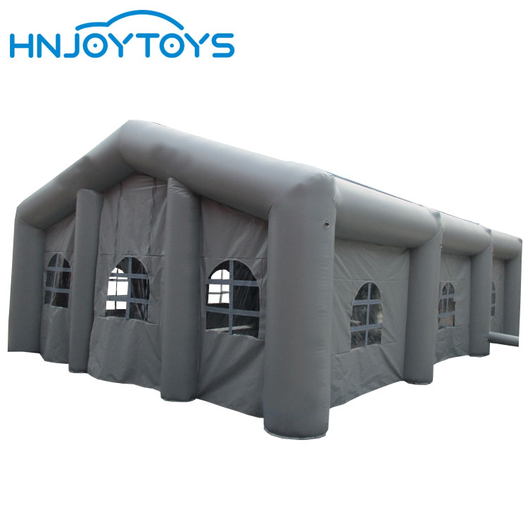 Commercial white color portable outdoor retractable inflatable tent camping for sale