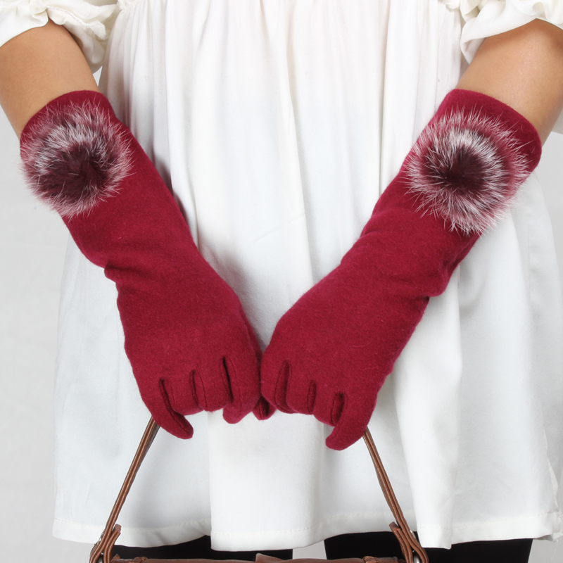 New design long fingerless mittens knitting pattern winter gloves mitten half finger gloves