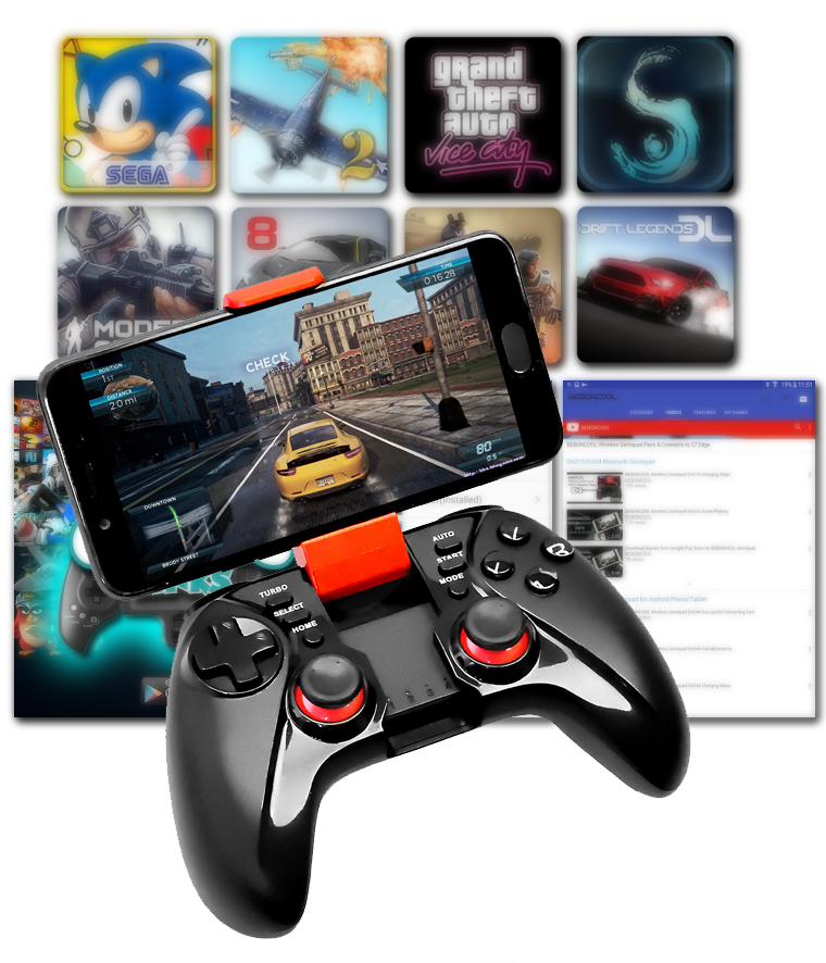 Multi-function Phone Joystick Bluetooth Wireless Controller For Fortnite  Android Ps3 Xbox360 Pc Switch Controller Gamepad - Buy Android Cell Phone