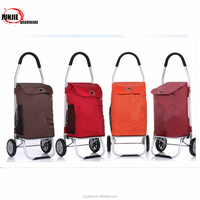 luggage cart trolley space saving small luggage cart