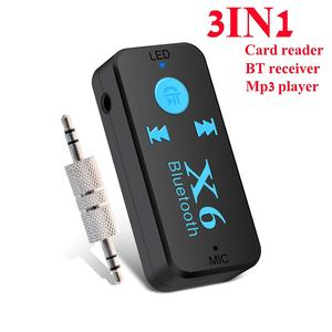 New bluetooth product Support Wireless Hands-free & TF Card & USB Charger Car Audio Music Player Receiver Adapter