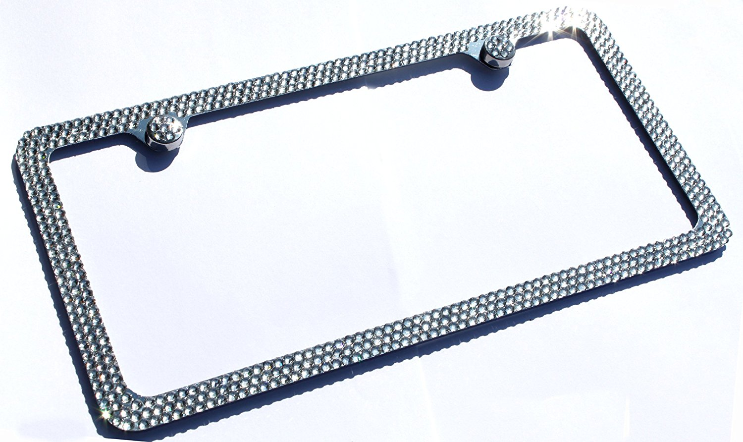 Cheap Swarovski Crystal License Plate Frame, find Swarovski Crystal ...