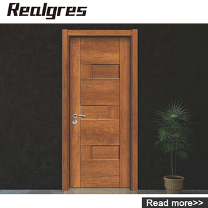 DS-8001 Front Malaysia Plywood House Kerala Designs Solid Teak Wood Flush Door Price
