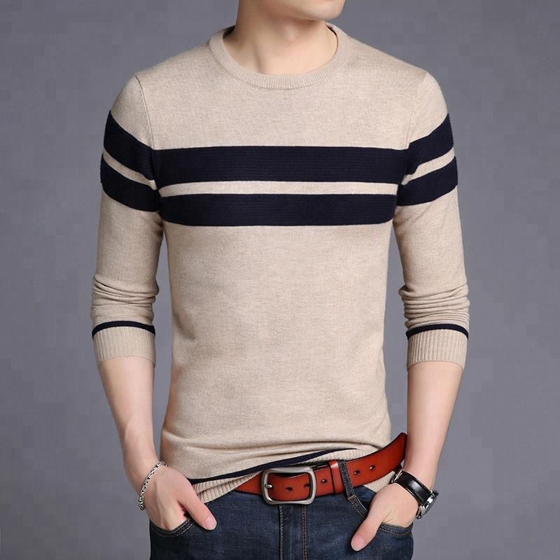 Long sleeve bodycon latest men sweater 2018 handsome men cardigan knitwear фото