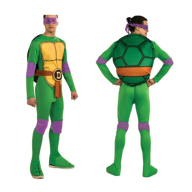 Adult Men Halloween Cosplay Teenage Mutant Ninja Turtle Leonardo