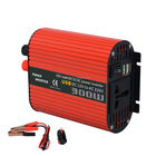 Car Inverter 2000w Red Shell Car Inverters 300w 500w 1000w 1500w 2000w With USB High Efficient Power Inverters