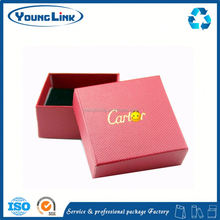 folding paper gift box for present