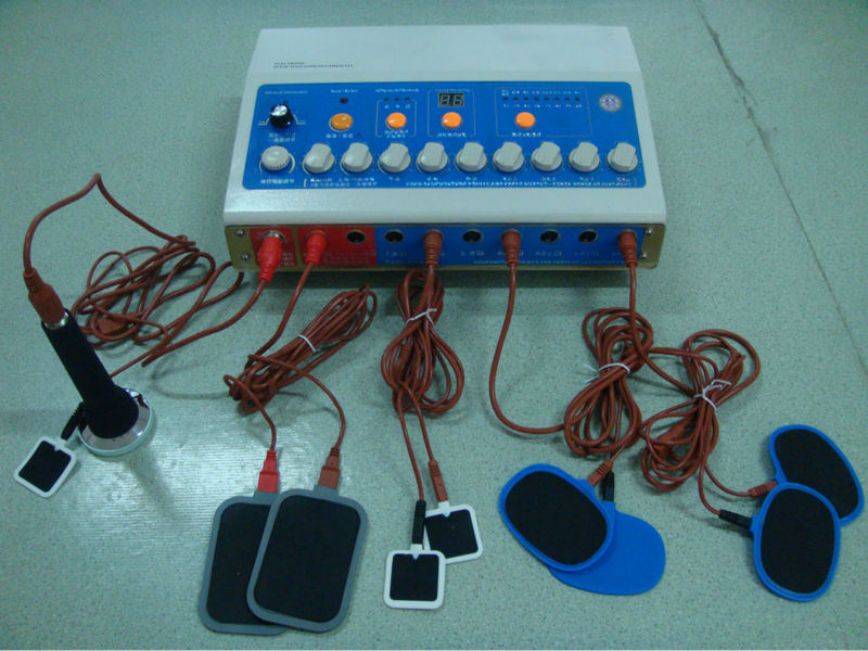 professional heating tens therapy machine with cupping, ultrasound EA-HB30C