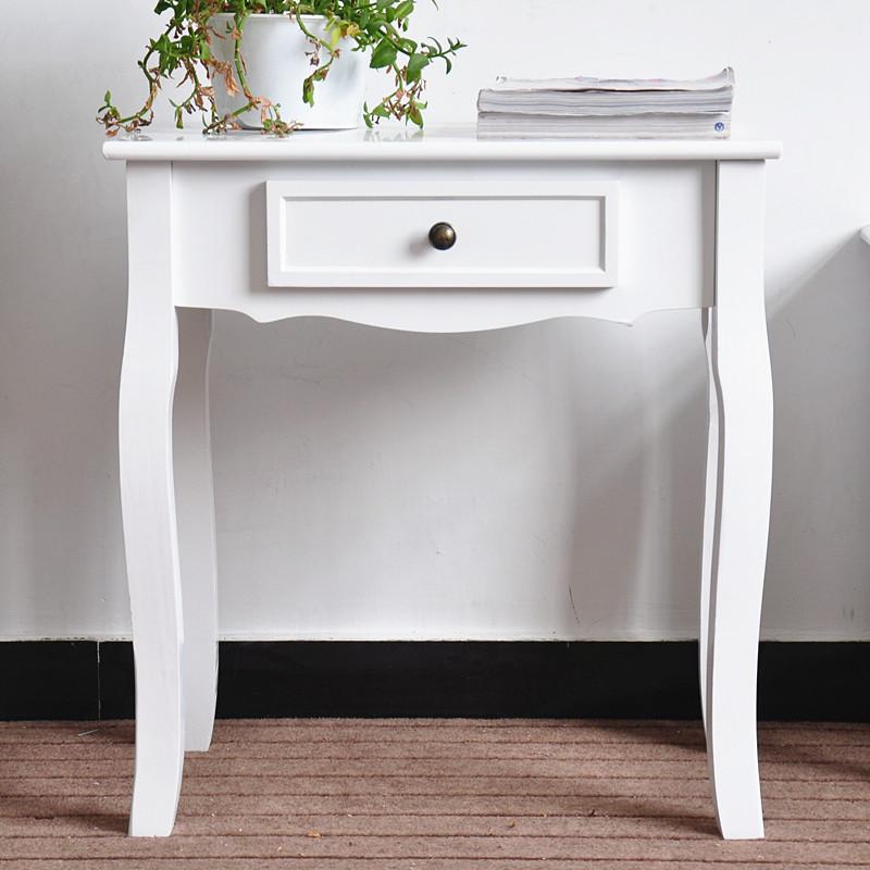 Piccolo bianco ufficio tavolino in legno tavolino cinese-Tavolo in ...