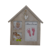 wall accessories baby room wood decor family photo frame