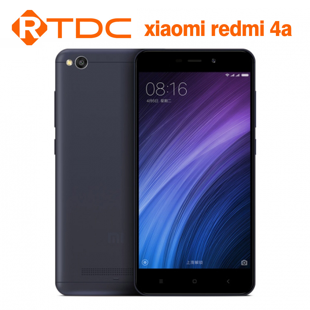 In Stock Xiaomi Redmi 4A 4 A mobile phone Snapdragon 425 Quad Core 1.4Ghz 2G 16G Redmi 4A Smartphone