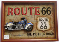 Route 66 Design Wooden Pub Bar Sign - Buy Pub Sign,Wooden Sign ...