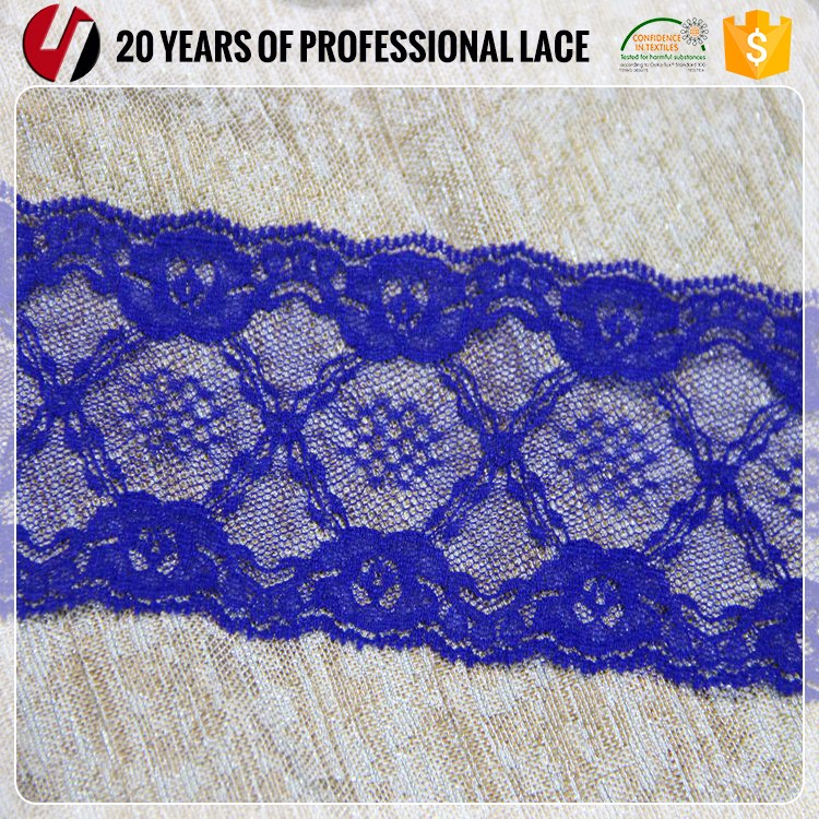 manufactory sexy bra lace and panty new design tirmming 6.8cm width