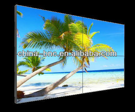 55 pulgadas 3x3 samsung lcd video wall hanging living room for Muebles para lcd 55 pulgadas