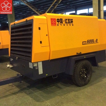 Factory direct Hongwuhuan HG600-8C high pressure portable diesel air compressor