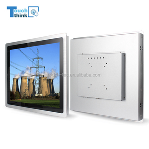 "15"" Fanless Industrial LCD Monitor Embedded LED Touch Screen Display"