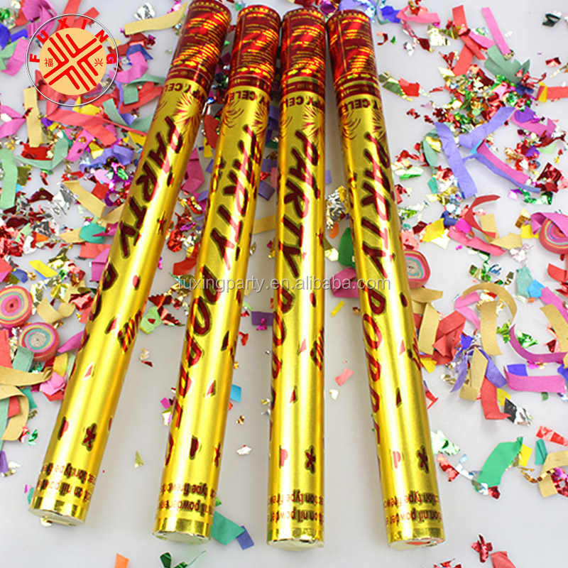 Fuxing famous brand world popular hot golden festival confetti cannon  factory, View party cannon, Fuxing Product Details from Yongkang Fuxing  Arts &