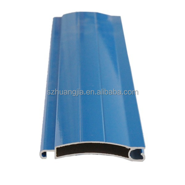 Colorful Aluminum Rolling Shutter Slat Profiles Accessories
