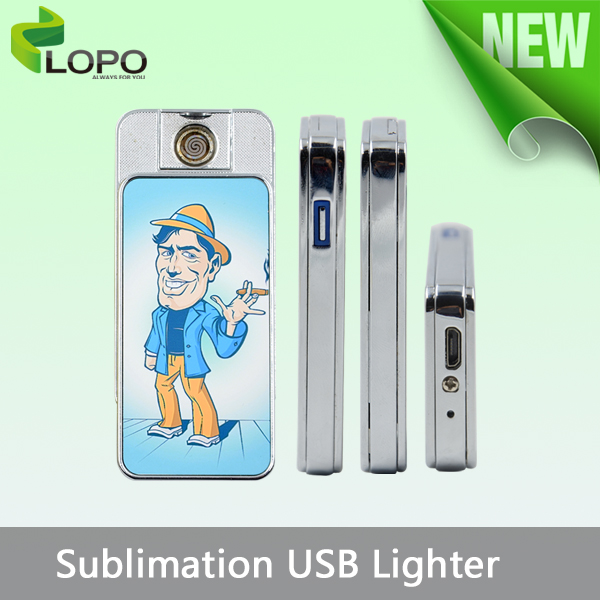 High-end personalised Sublimation USB Lighter