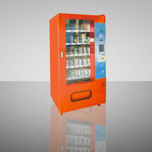 Hot sale Product!Coin Operated Automatic Snack and Drink Vending Machine
