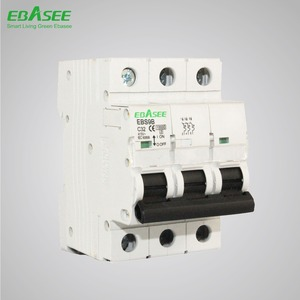 CE TUV CB Certificated MCB 10KA 125A 3P 4P competitive price mcb miniature circuit breaker