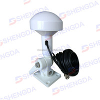 Marine gps antenna nmea 0183 with stand/cable Glonass TNT BNC male Marine GPS 1575.42Mhz external antenna