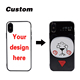Custom UV printing TPU+PC 2 in 1 cartoon mobile phone case for iphone x