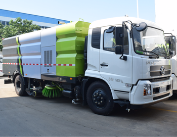 7 ton 4*2 road sweeper truck