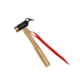 steel and copper head strength hammer with red ribbon