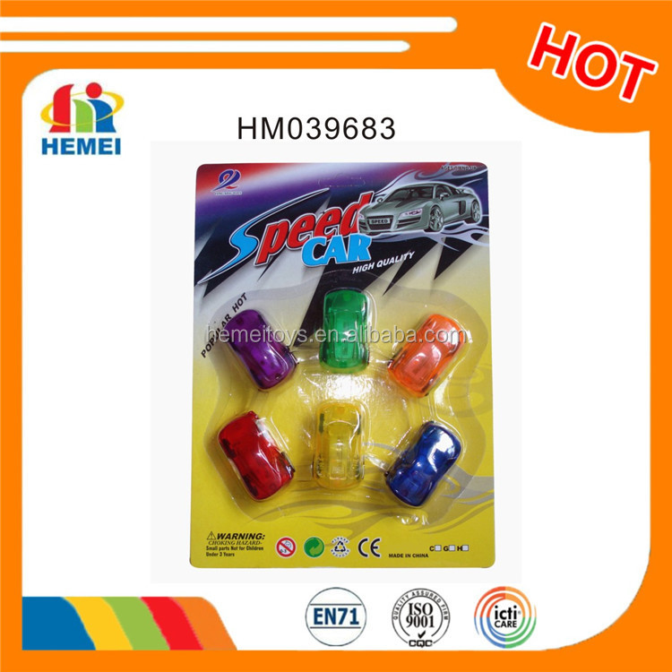 Hemei small plastic toy pull back car