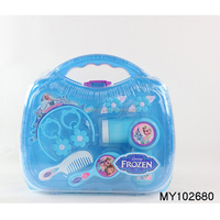 Frozen plastic electric hair dryer toy set girls toy tool set beauty set toy