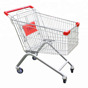Customizablepor table metal folding shopping carts trolleys