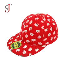 Custom Printing Cartoon Small Size Children Kids Hat Baby Snap Back Hat Baseball Caps