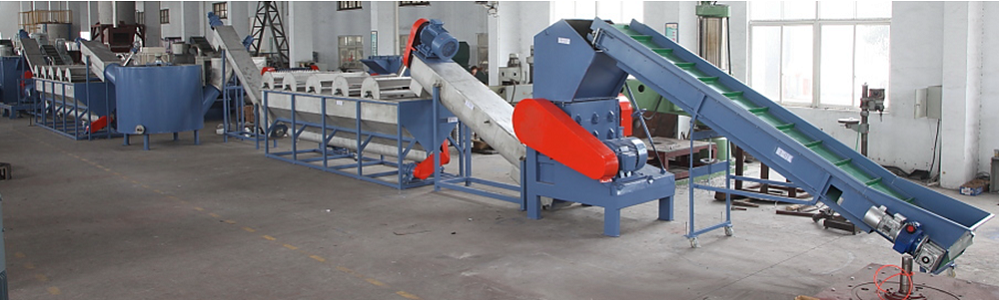 Optional Capacity Plastic Material Crushing Washing Line