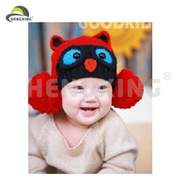 Knitting Winter Warm Earflap Cap Cheap Crochet Baby Hat
