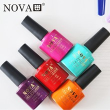 NOVA nail gel polish 6pcs soak off 160 colors gel lacquer UV LED Long lasting Top