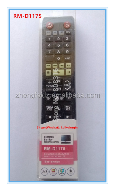 Lcd/led Common Use Tv Universal Remote Contro Samsung Rm-d1175 Ak59-00140a  Samsung Blu-ray Dvd With Blister Pack Remote Factory - Buy Huayu Lcd Remote