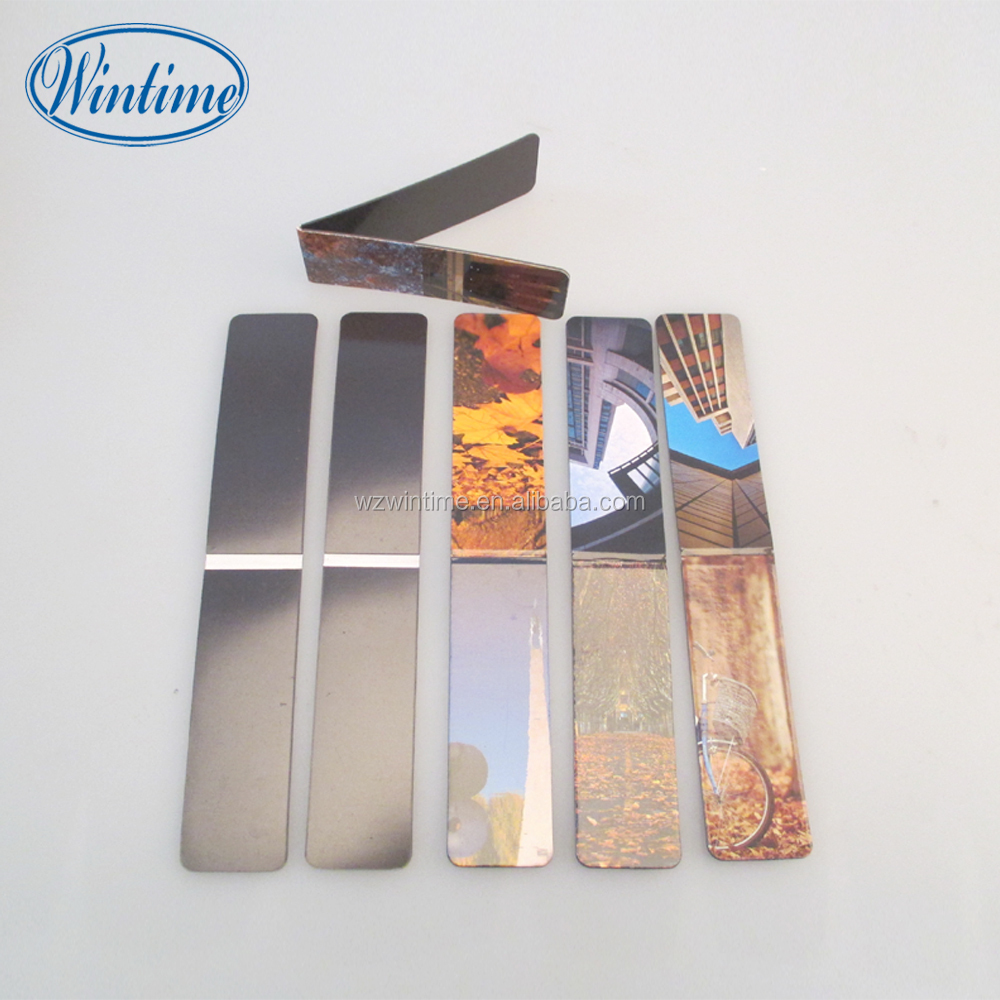 custom shape souvenir magnetic bookmark