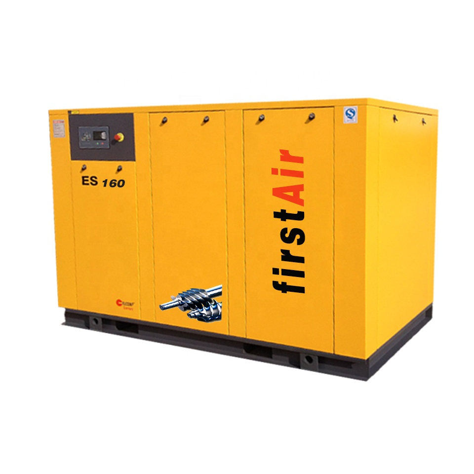 2018 chinese compressor ES-160A 185kw 7bar 8bar 10bar