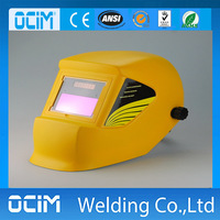 Silver color Auto Darkening Welding Helmet