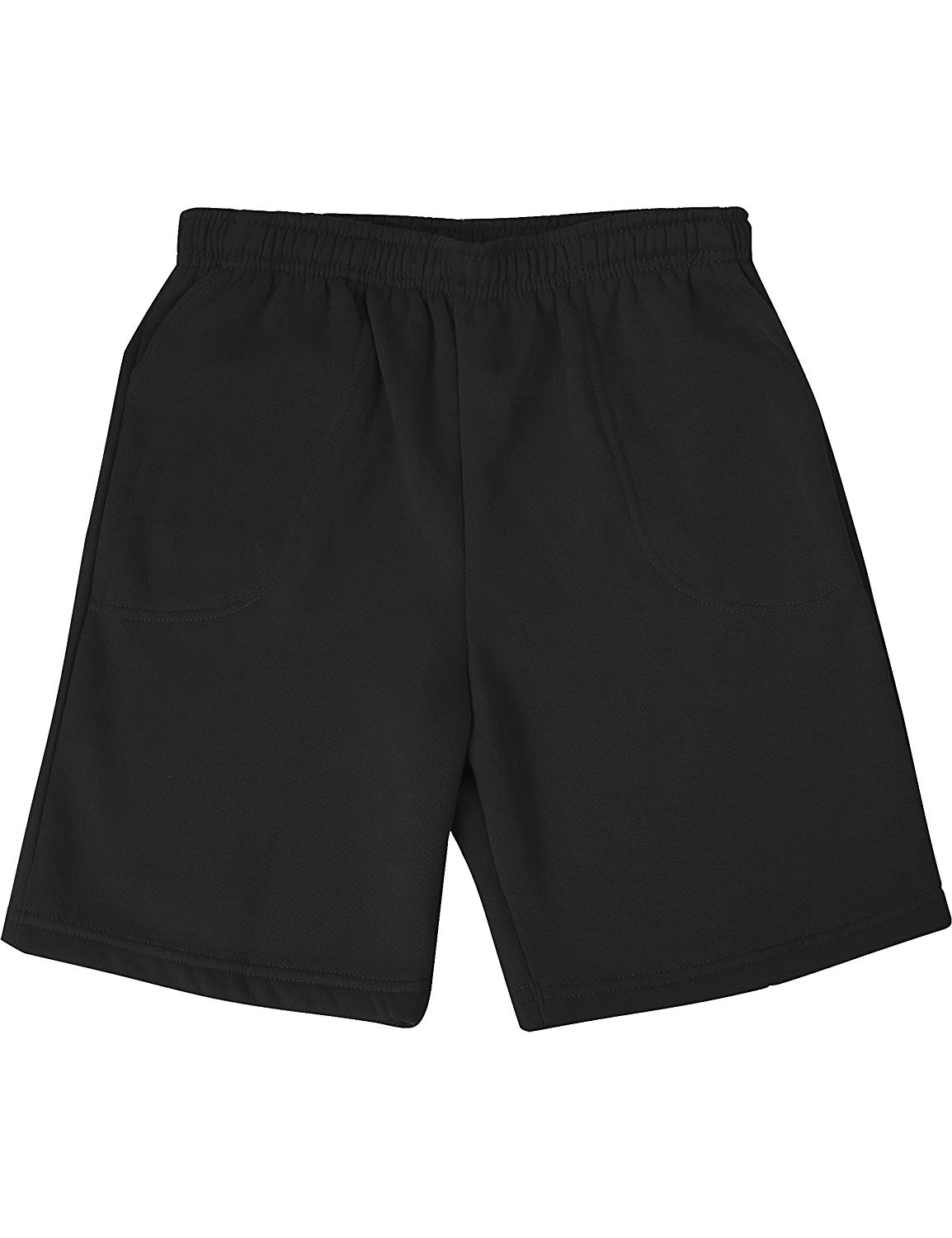 Ma Croix Mens Brushed Sweat Shorts Fleece Elastic Leisure Lightweight Pocket Short Pants